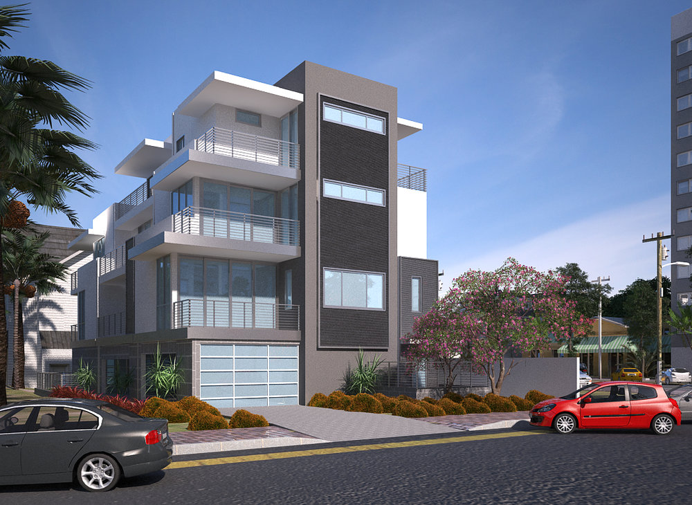 High Pointe2552 2nd Ave.San Diego, CA - Only 3 deluxe homes just 4 blocks from Balboa Park with downtown San Diego city and Bay views.  Home will offer 2 & 3 bedrooms with 2.051 to 2,314 sq. ft. with a 2-car direct-access garage.