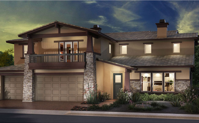 Seascape Homes6682 Peregrine PlaceCarlsbad, CA - 12 single-family detached homes 2.5 blocks from the beach.  Some homes have ocean or mountain views.  Single and two-story homes are available ranging from 1,628 to 4.321 sq. ft. with 3 to 5 bedrooms & 2-3 car garage.