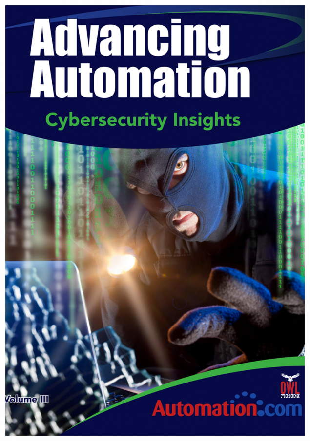 ADVANCING AUTOMATION CYBERSECURITY INSIGHTS eBOOK - Owl's detailed guide on how to secure your organization when you can't use patches