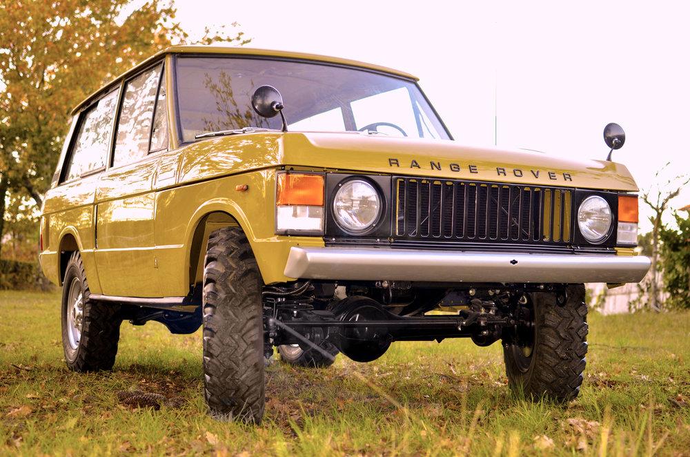 "1973 Range Rover: a ""vertical grille"" masterpiece reborn"
