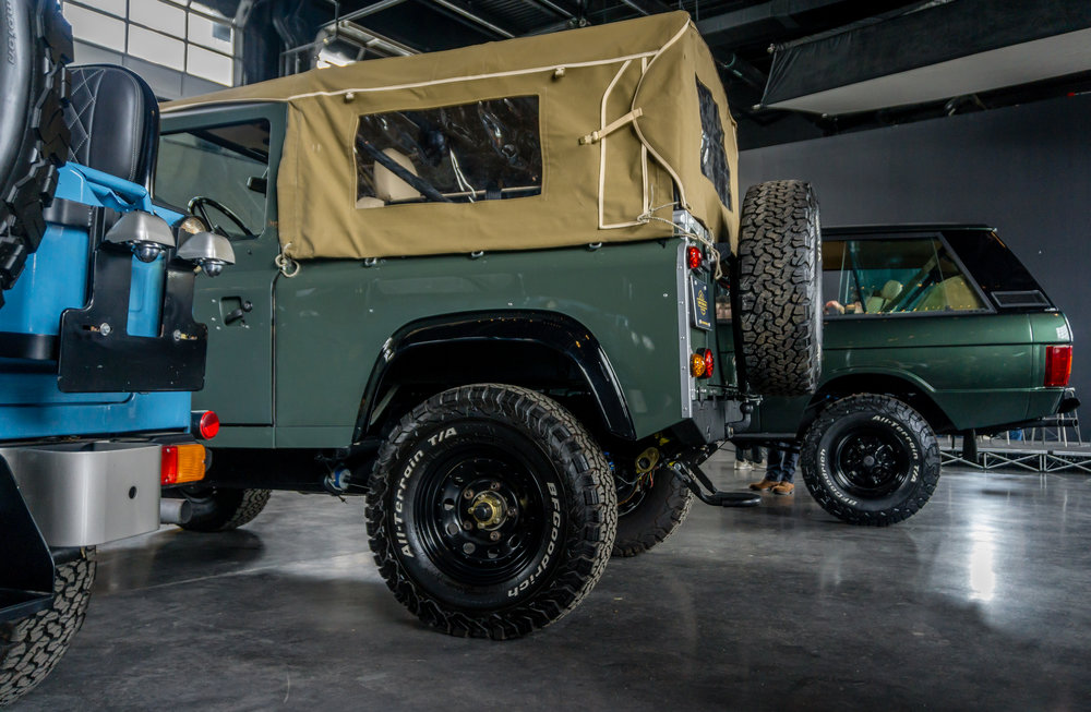 Our FJ40, D90 and RRC. Photo: R. Faussete