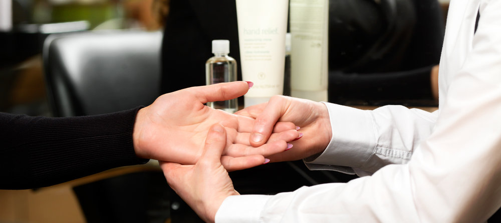 We  incorporate a relaxing complimentary hand ritual …...