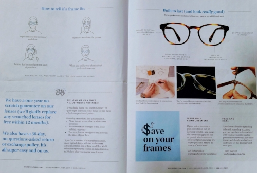 Home photo: Warby Parker Home Try-On Handbook (2018)