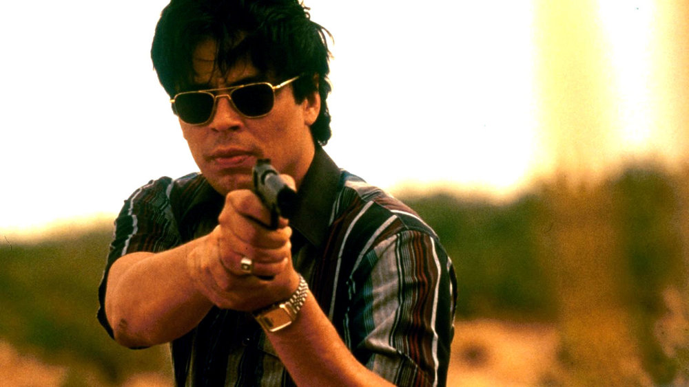 St. Benicio in  Traffic  (2000), the only Latino-American to win an Oscar between 1990 and 2015.