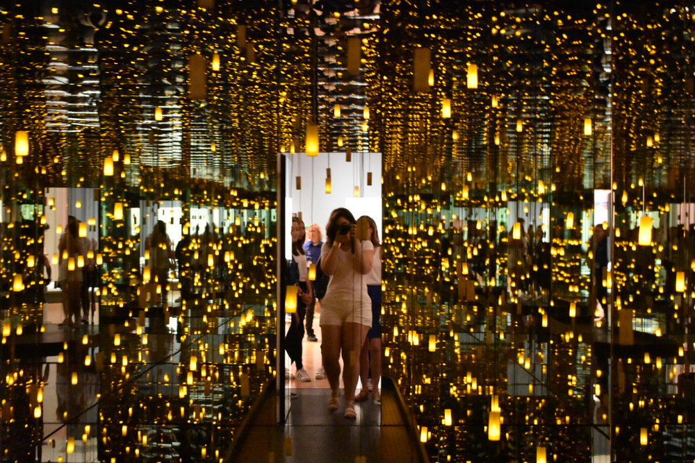 A step into the infinite ends a year's wait for  Yayoi Kusama: Infinity Mirrors .