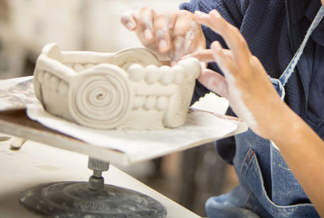 Wheel & Sculptural Pottery - Instructor: Bruce BartosAges 9-16