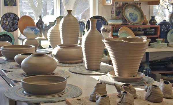 open pottery - Instructed by Bruce Bartos