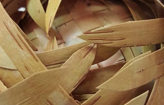 Lidded Birch Basket - Instructed by John Zasada