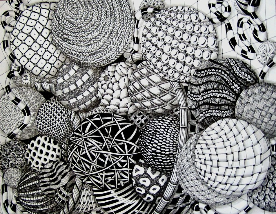 Relaxing with Zentangles - Instructed by Donna Miller