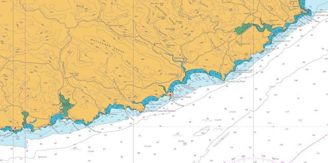 CATLINS Region, extending from Nugget Point south to Papatowai, Waikawa/Curio Bay, and Slope Point.