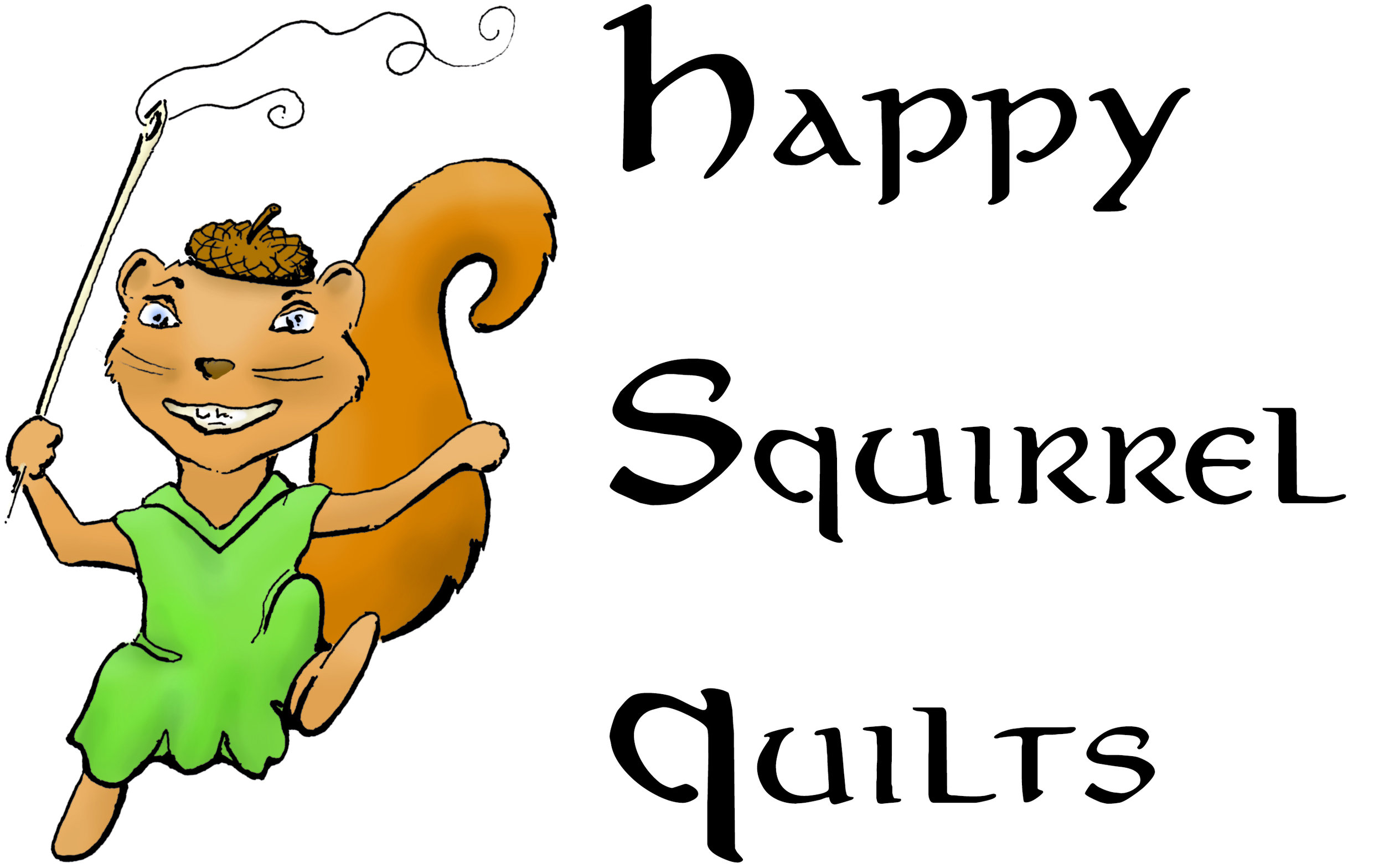 Happy Squirrel Quilts