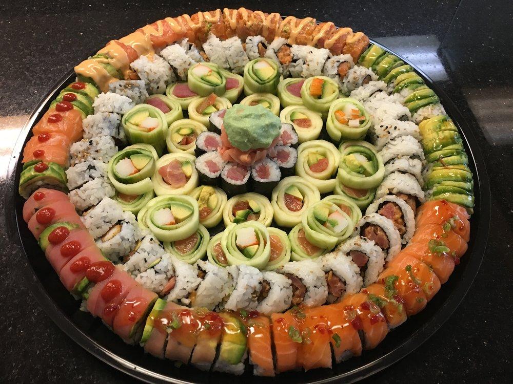 Order a Sushi Platter!