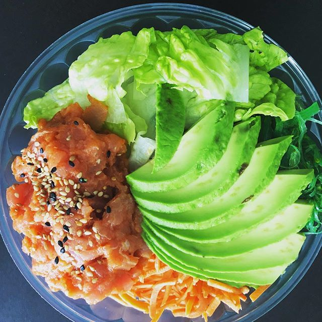 Come try our new Poke Bowls at Lenny's Pizza