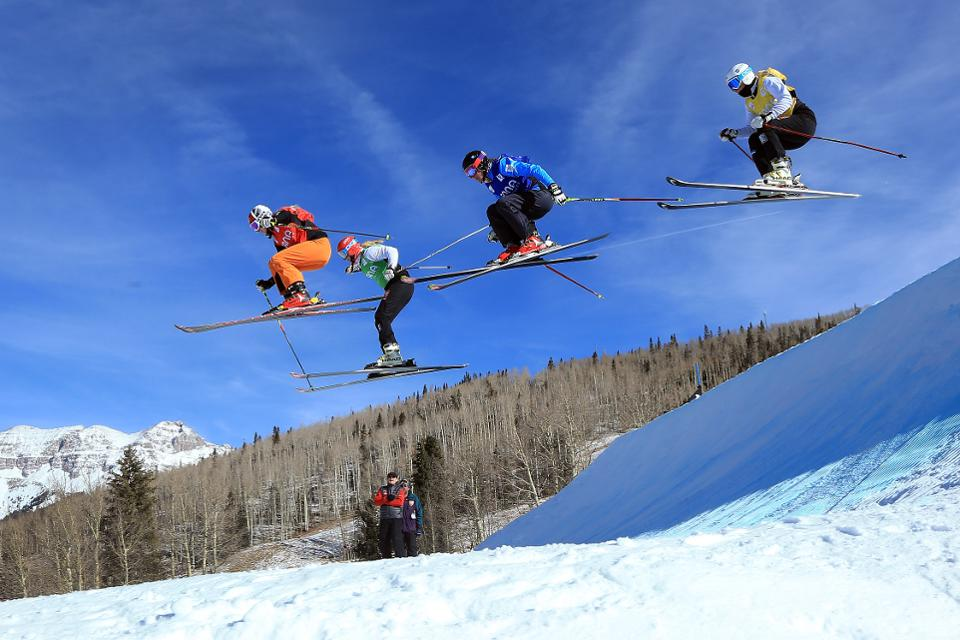 Lots of ways to go big at Telluride, sultan of PAF. Credit: Getty