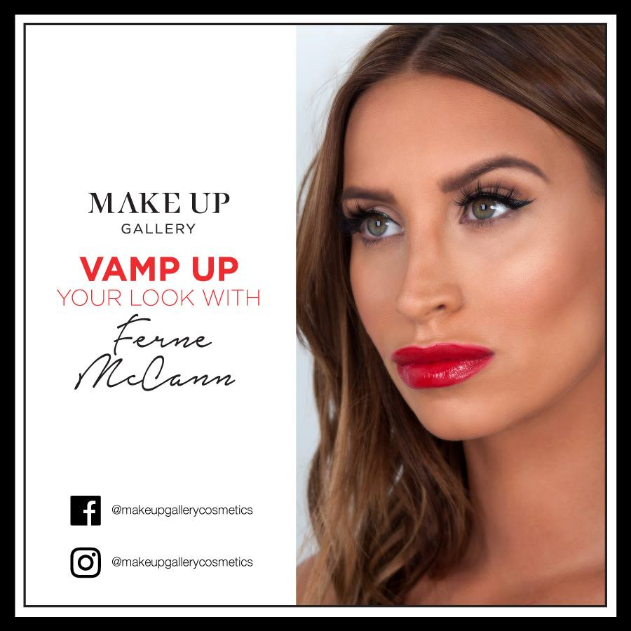 Ferne McCann x Make up Gallery    Voice-over, Vocal Eng