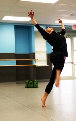 Tiffanie horner in rehearsal