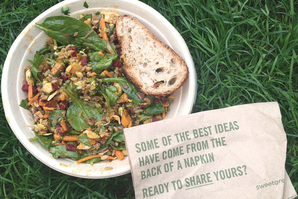 New York City: Best Low Key Lunches: Sweetgreen, The Plaza, Chelsea Market, Westville, Jivamukti