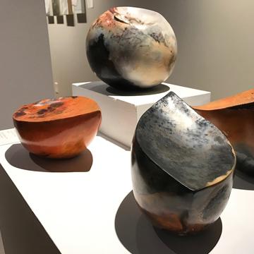 15 Bytes -Alternative Surfaces: Barbara Ellard's Striking Ceramics by Andrea Wall