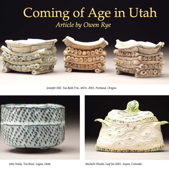 Ceramics: Art and Perception No. 67 2007 - Coming of Age in Utah by Owen Rye