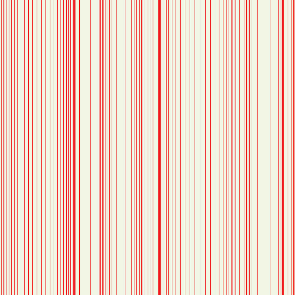 Encoded Stripe - Red