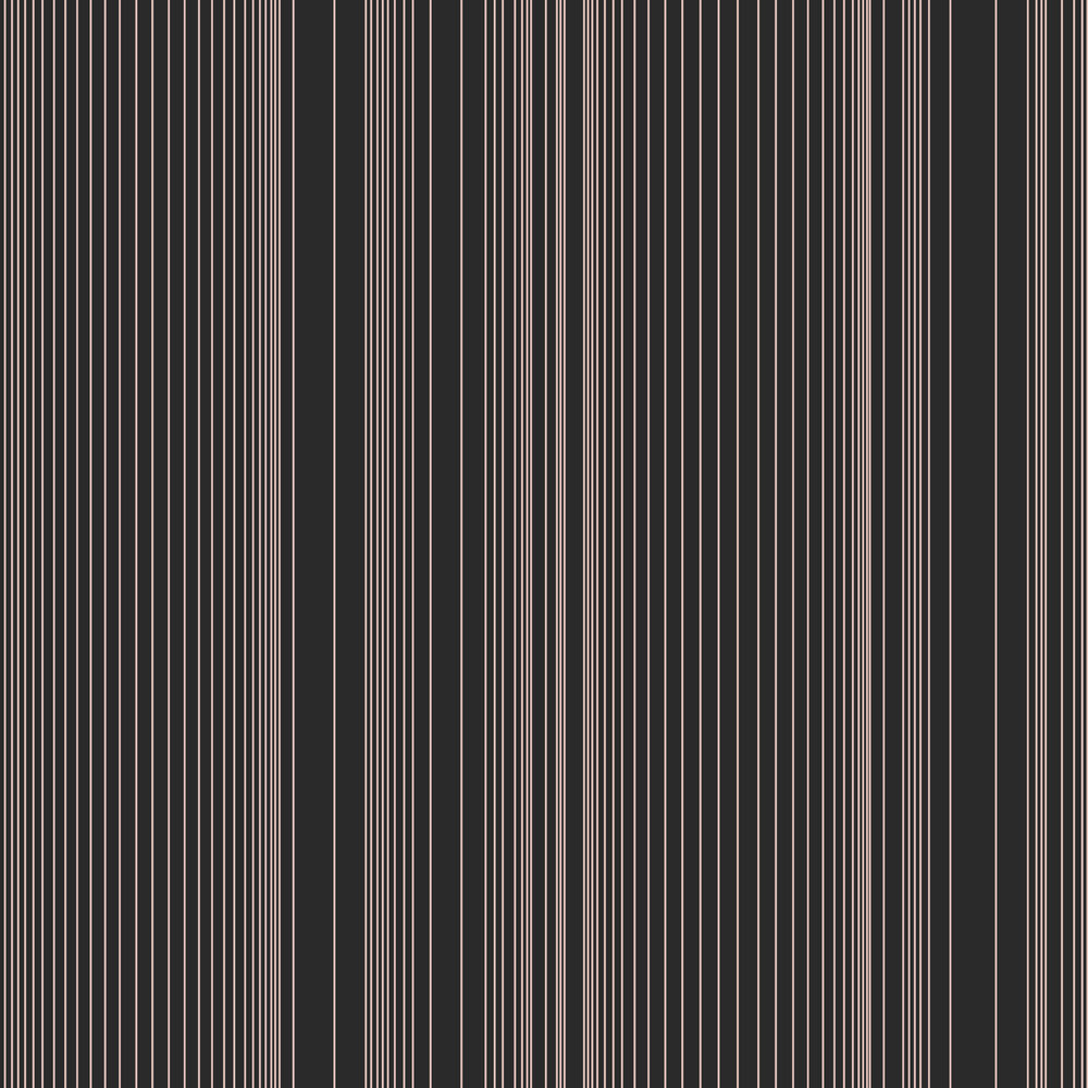 Encoded Stripe - Blush