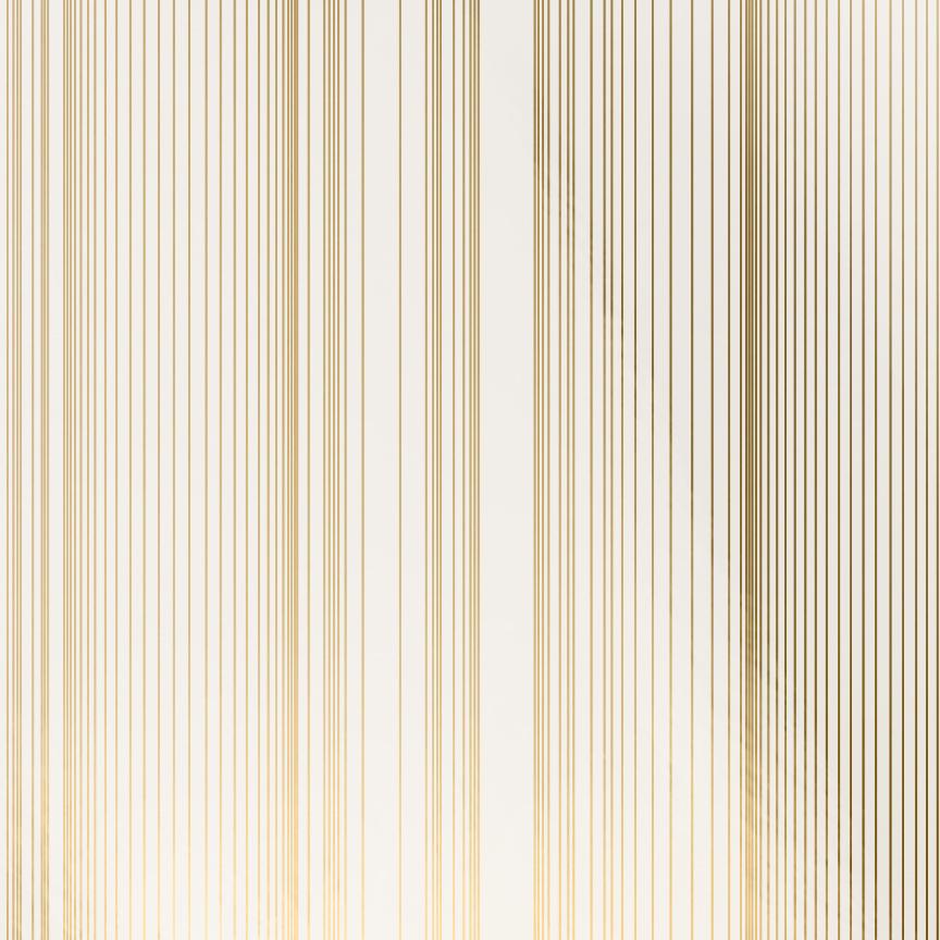 Encoded Stripe - Gold Shimmer