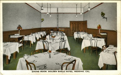 Golden Eagle Hotel Dining Room