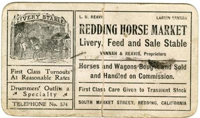 Redding Horse Market