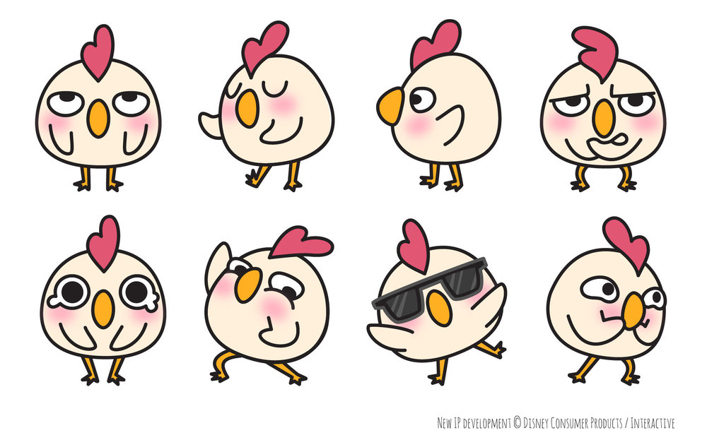 Character design for New IP shorts pitch