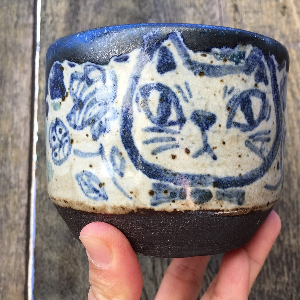 High fire ceramic cups