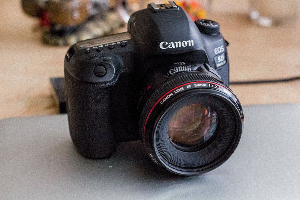 Canon 5D Mark IV - Mounted w/ 50mm f/1.2