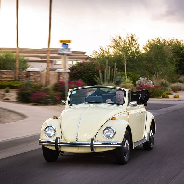 Sometimes its fun to go slow. #vwbeetle #69beetle #beetleconvertible #aircooled #aircooledbeetle #slowlane