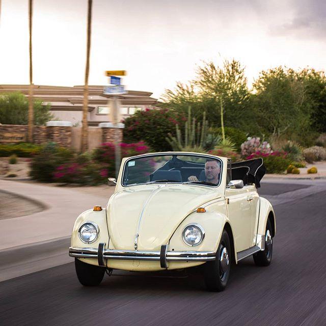 Sometimes its fun to go slow. #vwbeetle #69beetle #beetleconvertible #aircooled #aircooledbeetle #slowlane