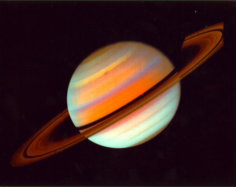 Saturn and her rings
