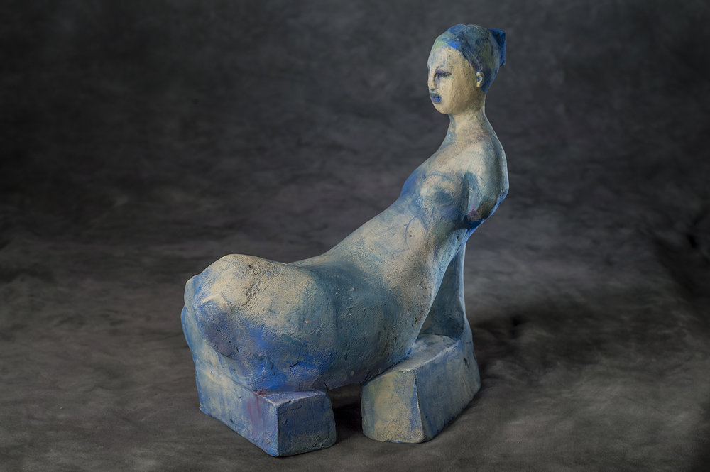 Blue Odalisque