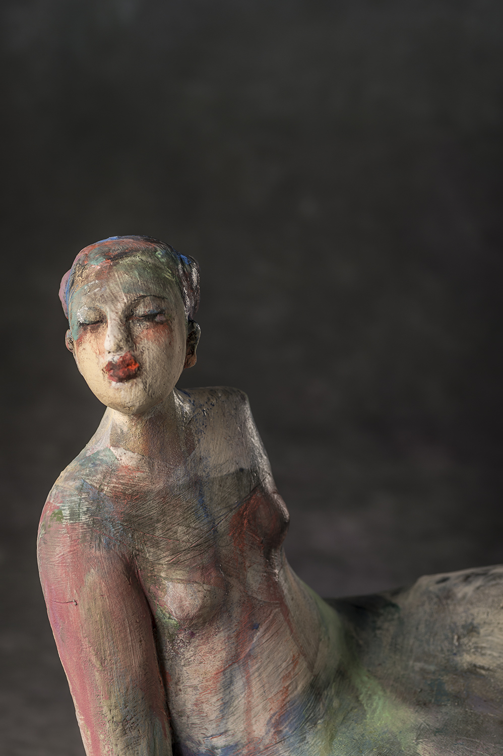 Girl On Plinth (detail)