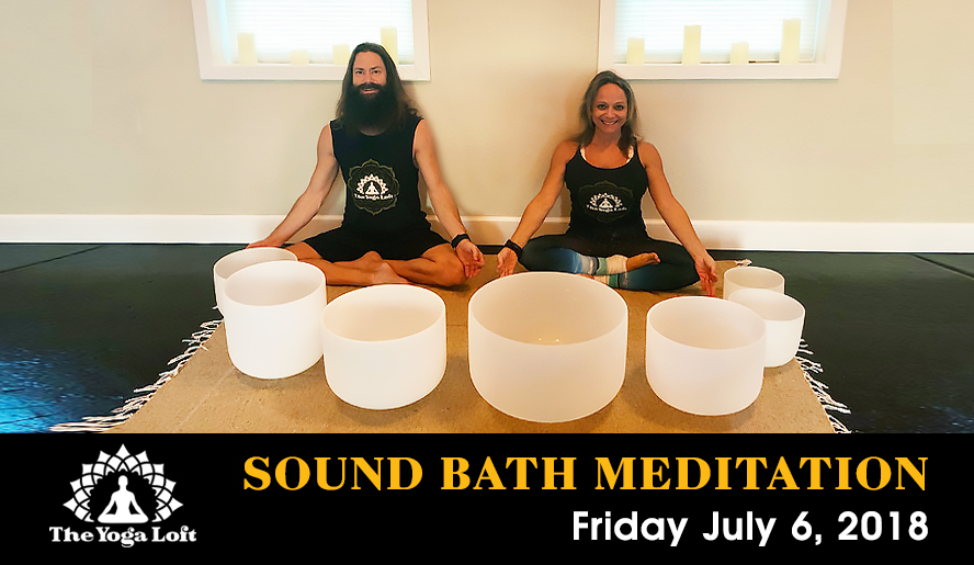 Sound Bath Meditation at The Titusville Yoga Loft Downtown Titusville with Anson Bingham & Angela McCaslin
