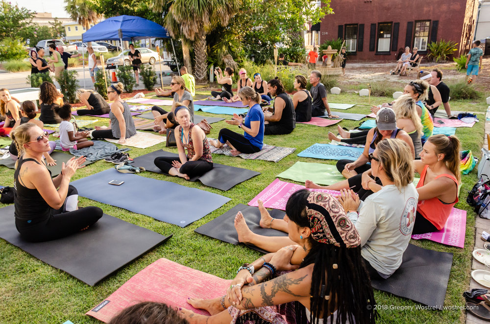 The Titusville Yoga Loft  - Titusville Yoga Loft Community Garden 10.jpg
