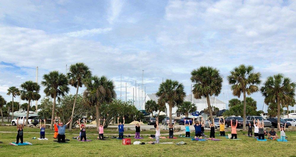 Titusville Yoga in the Park Sundays 9AM Sponsored by The Titusville Yoga Loft at Sand Point Park 101 N Washington Ave, Titusville, Florida 7.jpg