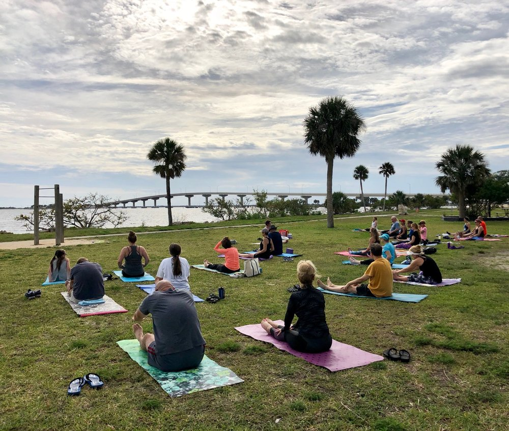 Titusville Yoga in the Park Sundays 9AM Sponsored by The Titusville Yoga Loft at Sand Point Park 101 N Washington Ave, Titusville, Florida 8.jpg