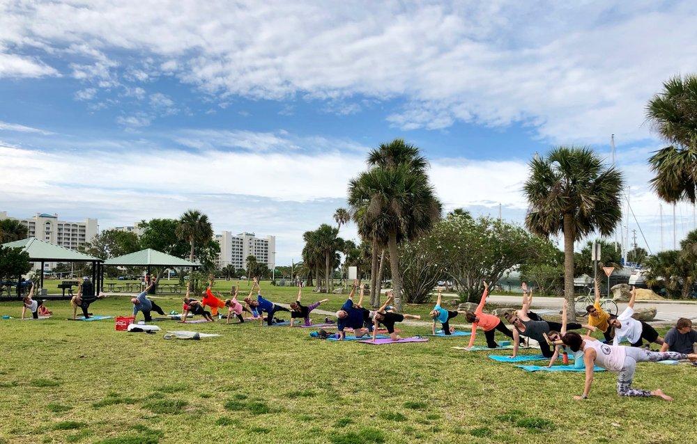 Titusville Yoga in the Park Sundays 9AM Sponsored by The Titusville Yoga Loft at Sand Point Park 101 N Washington Ave, Titusville, Florida 9.jpg