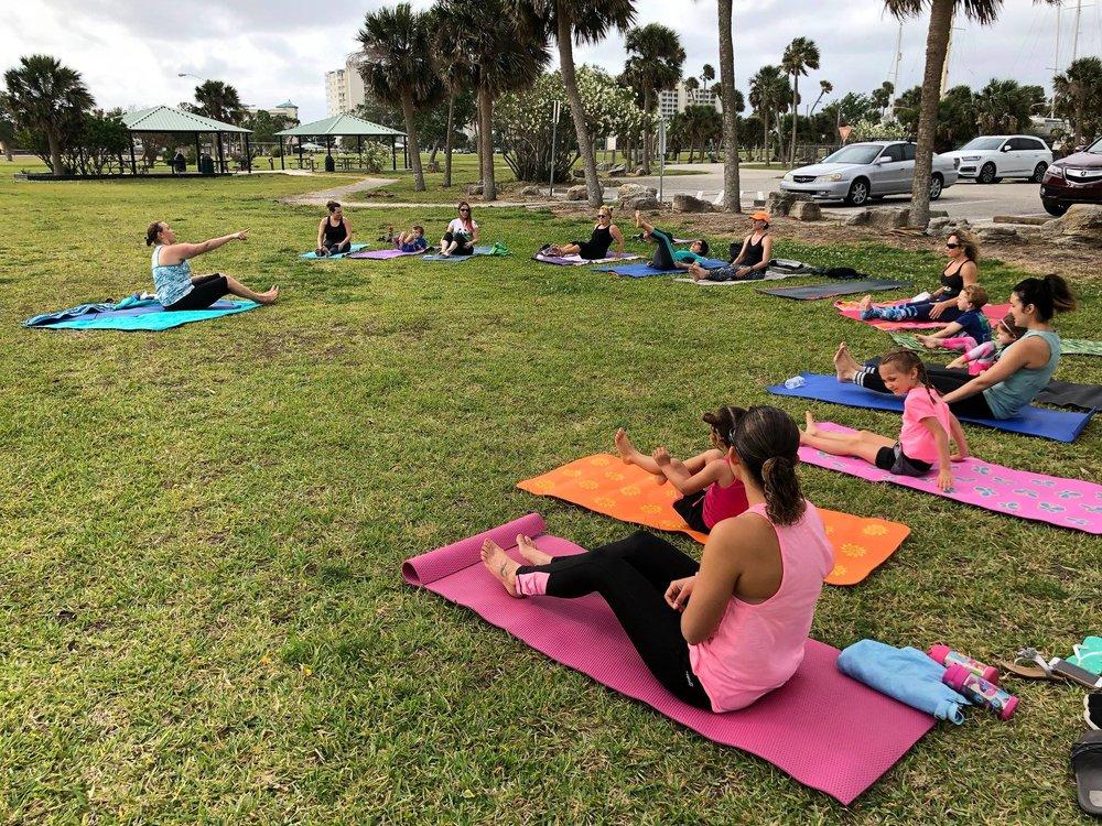 Titusville Yoga in the Park Sundays 9AM Sponsored by The Titusville Yoga Loft at Sand Point Park 101 N Washington Ave, Titusville, Florida 12.jpg