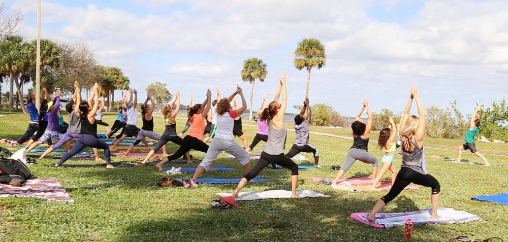 Titusville Yoga in the Park Sundays 9AM Sponsored by The Titusville Yoga Loft at Sand Point Park 101 N Washington Ave, Titusville, Florida 18.jpg