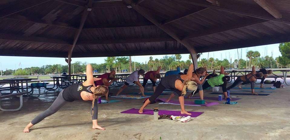Titusville Yoga in the Park Sundays 9AM Sponsored by The Titusville Yoga Loft at Sand Point Park 101 N Washington Ave, Titusville, Florida 48.jpg