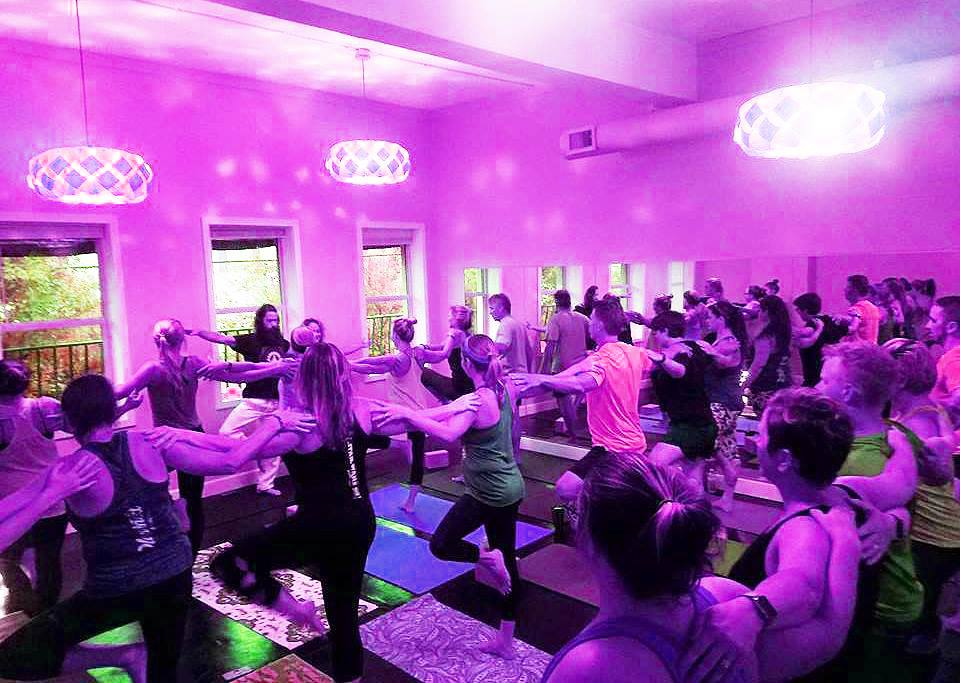 The Titusville Yoga Loft Studio in Downtown Titusville is availble to rent for special events, birthdays, parties, art shows, receptions, graduations, showers, and any private events 9.jpg