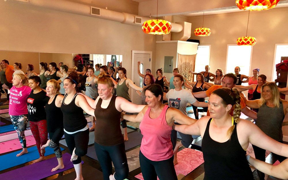 The Titusville Yoga Loft Studio in Downtown Titusville is availble to rent for special events, birthdays, parties, art shows, receptions, graduations, showers, and any private events 11.jpg