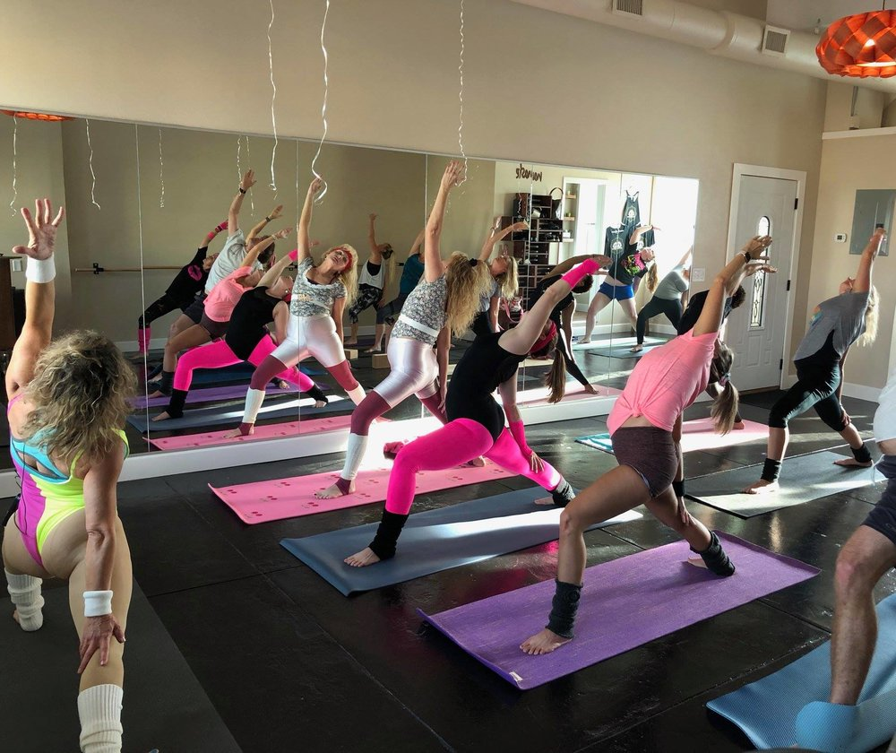 The Titusville Yoga Loft Studio in Downtown Titusville is availble to rent for special events, birthdays, parties, art shows, receptions, graduations, showers, and any private events 13.jpg