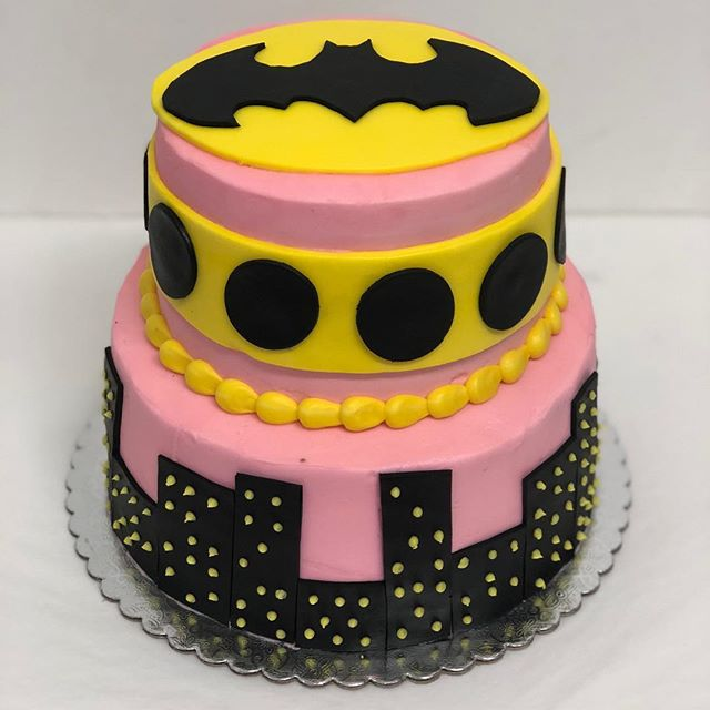 🦇Bat Girl Cake from this past weekend!💕 We are closing early today at 4:00 due to hurricane/tropical storm Gordon! We want to make sure that everyone gets home safely! We should be open Wednesday at our normal time!