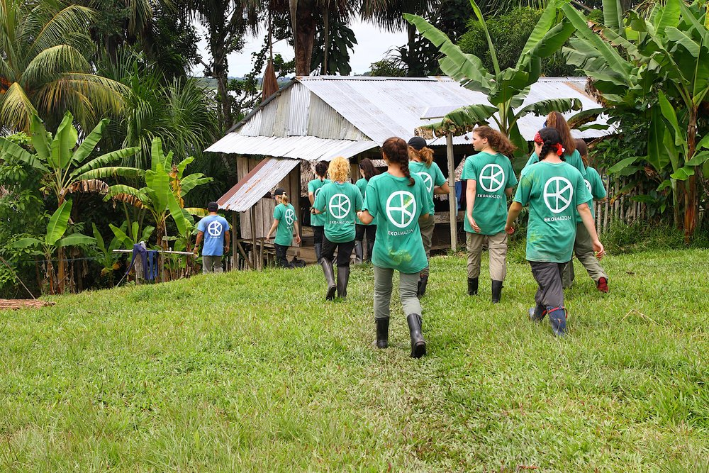 We're Building a cross-cultural community to connect people to a more sustainable life. - Through our EKO Expeditions, explorers immerse themselves in an entirely different culture in one of the most beautiful places on earth the Amazon rainforest.They work with villagers along the river to improve health and education, helping sustain the lives of these stewards of the rainforest. Our explorers return home with an expanded perspective on life and sustainability.