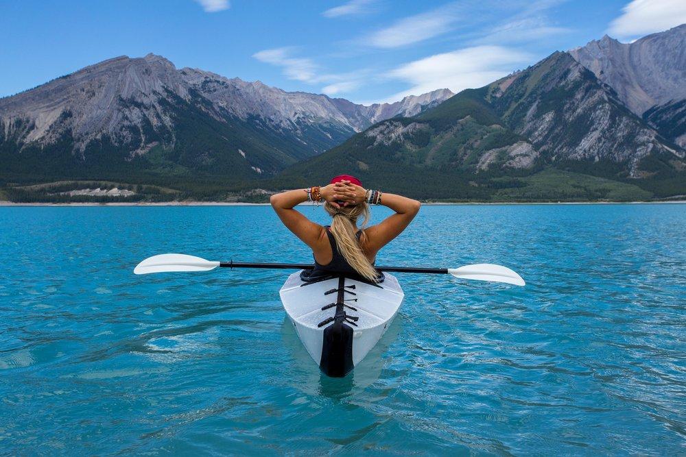 the serene adventure of kayaking